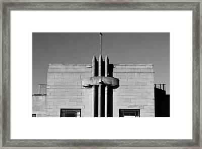 Dated Building Framed Print