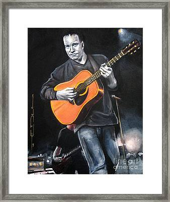 Dave Mathews Band Framed Print by Eric Dee