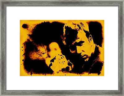 David Beckham 5c Framed Print by Brian Reaves