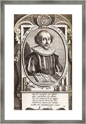 David De Planis Campy, French Alchemist Framed Print by Middle Temple Library
