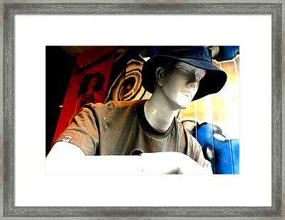 David Framed Print by Jez C Self