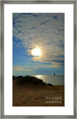 Day Is Done Framed Print by Debra Kaye McKrill