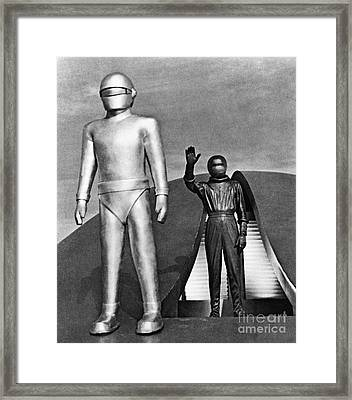 Day The Earth Stood Still Framed Print by Granger