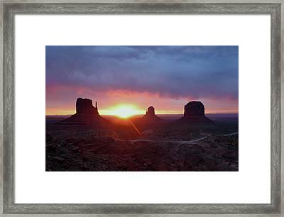 Daybreak Framed Print by Gordon Beck