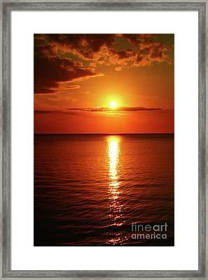 Days End Beauty Framed Print