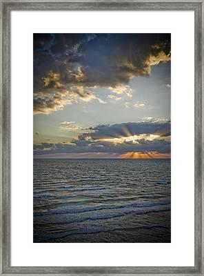 Daytona Sunrise Framed Print