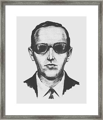 D.b. Cooper Framed Print by War Is Hell Store