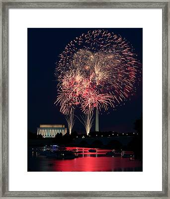 Dc 4th Of July Framed Print