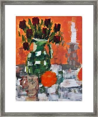 Dead Roses Framed Print