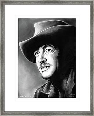 Dean Martin Framed Print