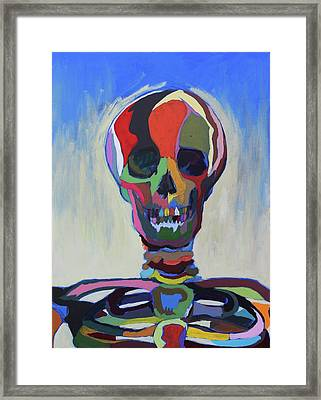 Death Framed Print by Dave Montgomery