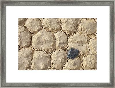 Death Valley Mud Framed Print