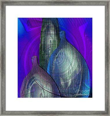 Decanters Framed Print