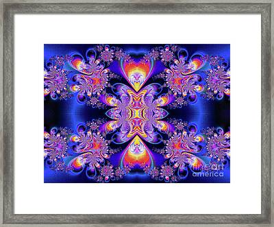 Deep Heart Framed Print by Ian Mitchell