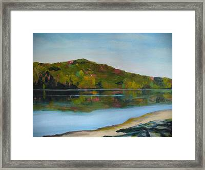 Deer Lake Framed Print by Joe Lanni