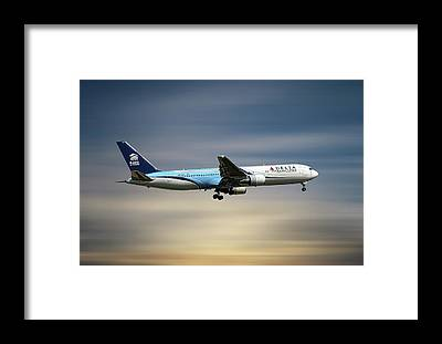 Delta Air Lines Framed Prints