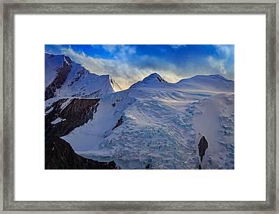 Denali Framed Print by Rick Berk