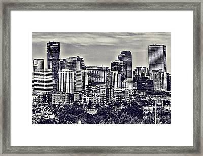 Denver Colorado Framed Print
