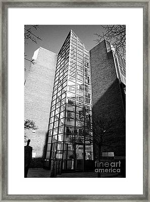 department of social protection and department of jobs enterprise and innovation earlsfort centre Du Framed Print by Joe Fox