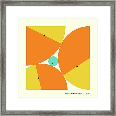 Descartes Theorem Framed Print