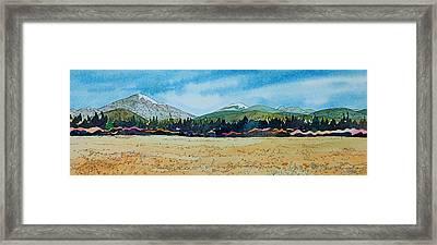 Deschutes River View Framed Print