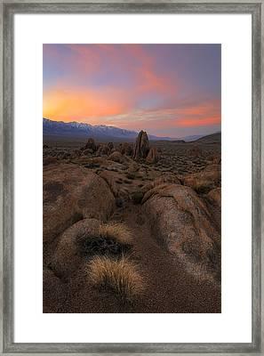 Desert Dreaming Framed Print by Mike Lang