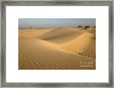 Framed Print featuring the photograph Desert by Yew Kwang