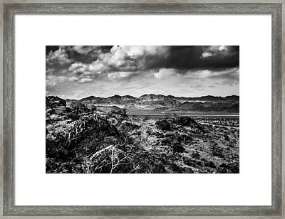 Framed Print featuring the photograph Deserted Red Rock Canyon by Jason Moynihan