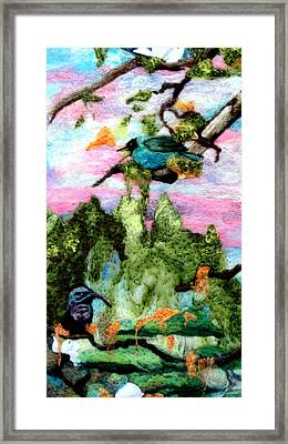 Detail Of Spring Framed Print