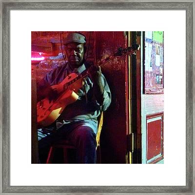 Detroit Brooks In New Orleans Framed Print