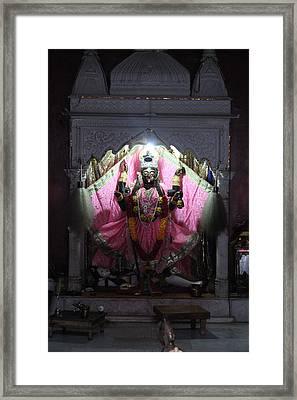 Devi Temple, Vrindavan Framed Print