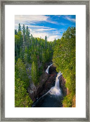 Devil's Kettle  Framed Print
