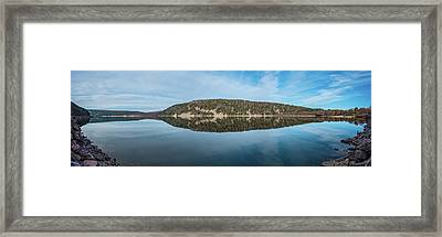 Devils Lake Framed Print