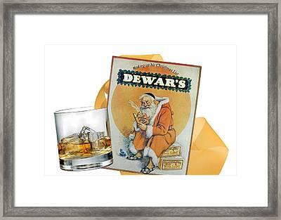 Dewars-ancient Shield Framed Print by Manfred Lutzius