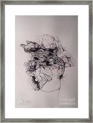 Dibujo Framed Print by Cesar Velasco
