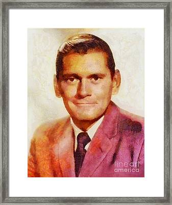 Dick York, Vintage Hollywood Actor Framed Print