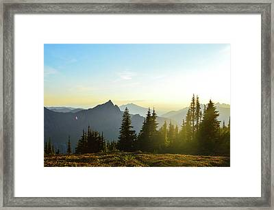 Dickerman Sunset Framed Print