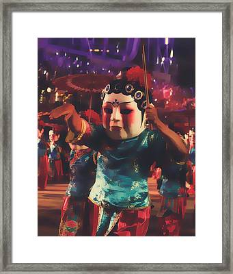 Digital Art Framed Print
