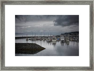 Discovery Harbour Framed Print by Randy Hall
