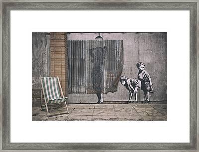 Dismaland  Framed Print by Jason Green