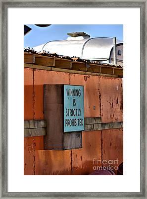 Dismaland Framed Print by Lucy Antony