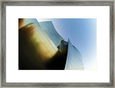 Disney Concert Hall 9 Framed Print by Micah May