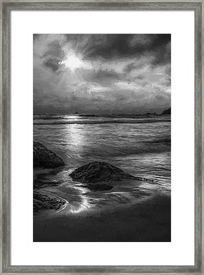 Distant Lighthouse  II Framed Print