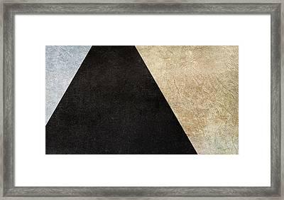 Division Framed Print by Brett Pfister