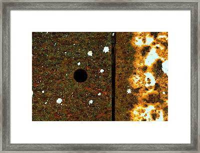 Division Framed Print by Tom Druin