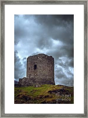 Dolbadarn Castle  Framed Print by Amanda Elwell