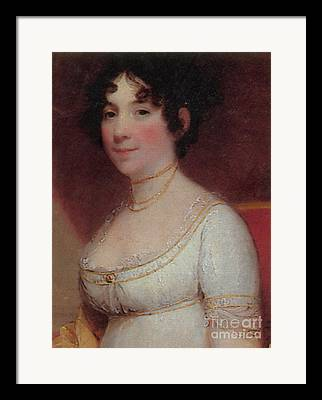 Dolley Madison Framed Prints