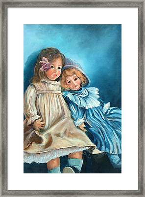 Dolls At Rest Framed Print by Sally Seago