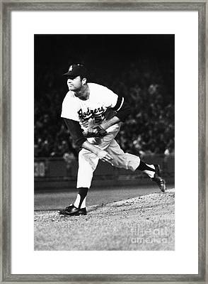 Don Drysdale (1936-1993) Framed Print by Granger