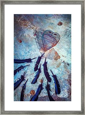 Don't Cage Me In Framed Print